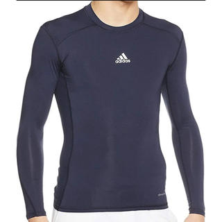 アディダス(adidas)のアンダーシャツ 長袖 テックフィット アルファスキン (ウェア)