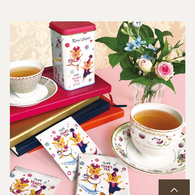 カレルチャペック 紅茶&トートバッグ 食品/飲料/酒の飲料(茶)の商品写真