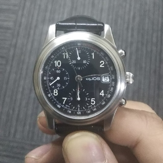 エポス(EPOS)のepos エポスクロノグラフ ジャンク 訳あり(腕時計(アナログ))