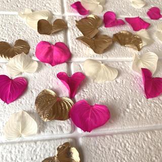 バレンタイン花材 ハートリーフ 30枚(ドライフラワー)