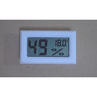 デジタル温度計・湿度計★黒or白★ペット温湿管理★防湿庫など(爬虫類/両生類用品)