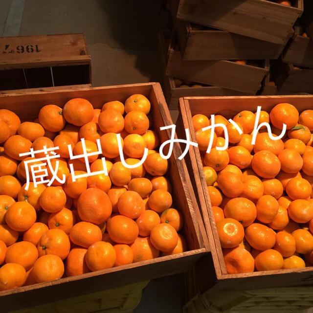 紀州 蔵出し 家庭用みかん 小粒 食品/飲料/酒の食品(フルーツ)の商品写真