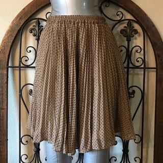 カリアング(kariang)のドットプリーツスカート(ひざ丈スカート)