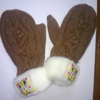 ディズニー(Disney)のミニー柄手袋(手袋)