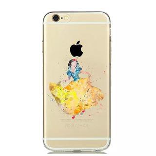 シラユキヒメ(白雪姫)のiPhone ケース ♡ 水彩 白雪姫(iPhoneケース)