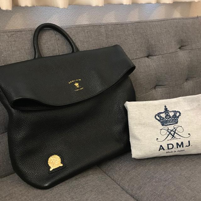 A.D.M.J.(エーディーエムジェイ)の ADMJ 💙 2way レザー リュック ハンドバッグ レディースのバッグ(リュック/バックパック)の商品写真