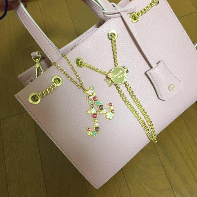 Samantha Vega(サマンサベガ)のSamantha Vega アイリア 小 ピンク レディースのバッグ(ハンドバッグ)の商品写真