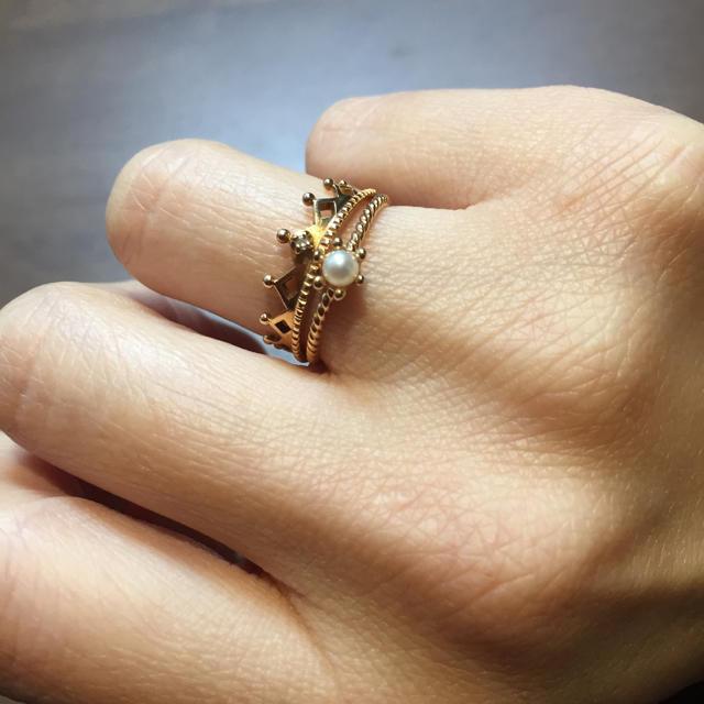 NOJESS(ノジェス)のノジェス  リング セット NOJESS レディースのアクセサリー(リング(指輪))の商品写真