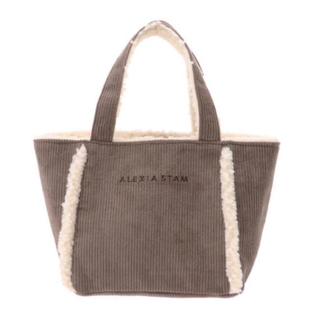 ALEXIA STAM(アリシアスタン)のアリシアスタン  トートバッグ モカ レディースのバッグ(トートバッグ)の商品写真