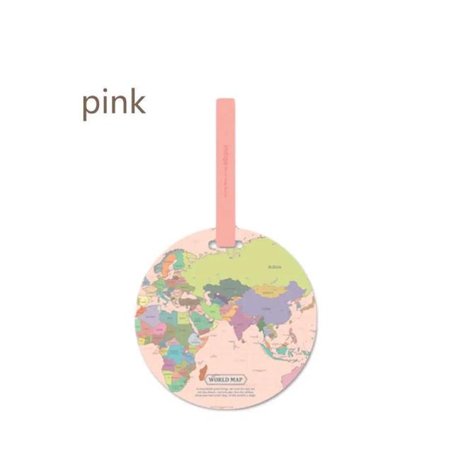 世界地図 スーツケース 荷物 ネームタグ  レディースのバッグ(スーツケース/キャリーバッグ)の商品写真