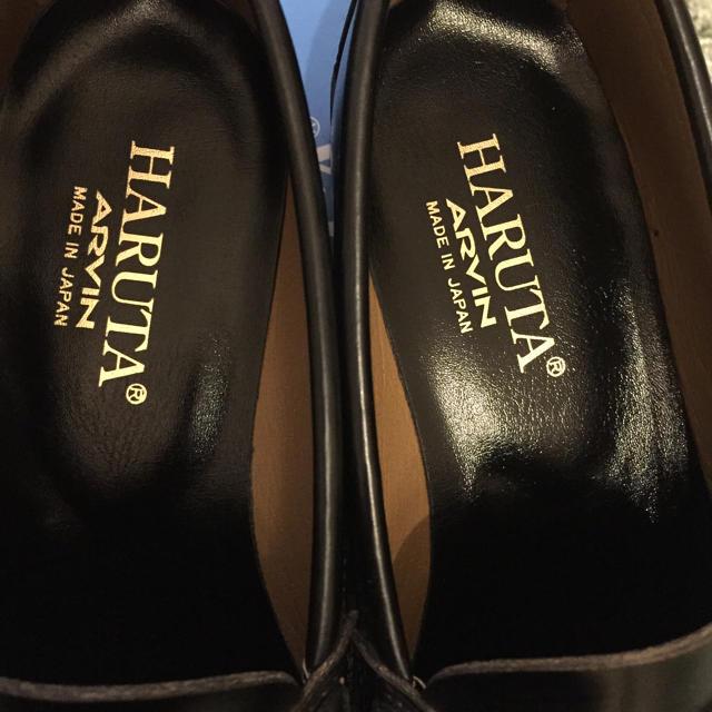 HARUTA(ハルタ)のHARUTA ARVIN 黒ローファー レディースの靴/シューズ(ローファー/革靴)の商品写真