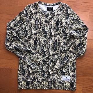 ナイトレイド(nitraid)のナイトレイド nitraid リアルウィード長袖Tシャツ Lサイズ(Tシャツ/カットソー(半袖/袖なし))