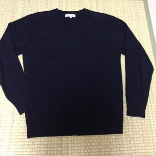 シマムラ(しまむら)のVネックセーター 170(ニット)