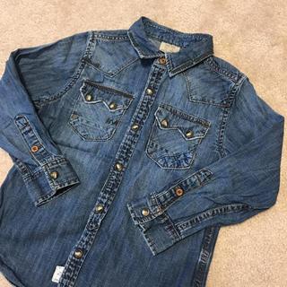 ザラ(ZARA)の新品ZARA BOYS  デニムジャケット デニムシャツ(ジャケット/上着)