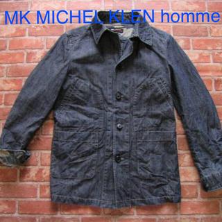 エムケーミッシェルクランオム(MK MICHEL KLEIN homme)のミッシェルクラン MK MICHEL KLEN homme 迷彩デニムジャケット(ブルゾン)