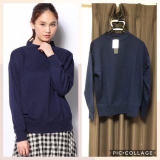 ジーナシス(JEANASIS)のジーナシス☆新品タグ付き スウェット(トレーナー/スウェット)