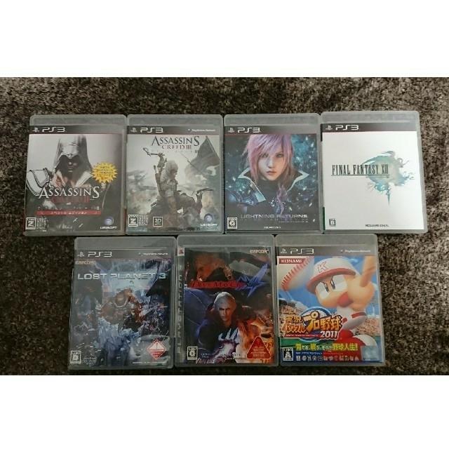 PlayStation3(プレイステーション3)のラクマ限定価格!PS3ソフト20本まとめ売り! エンタメ/ホビーのゲームソフト/ゲーム機本体(家庭用ゲームソフト)の商品写真