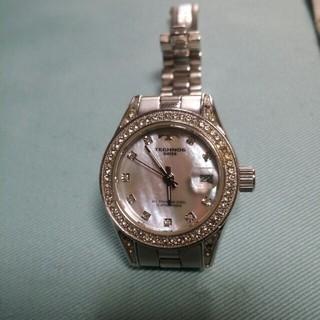 テクノス(TECHNOS)のテクノス腕時計ピンクシェル(腕時計)