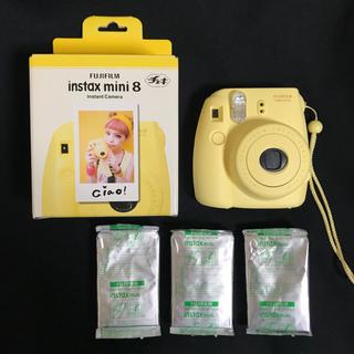 フジフイルム(富士フイルム)のチェキ instax mini8 フィルム付き(フィルムカメラ)