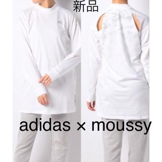 アディダス(adidas)の新品 adidas moussy W ID バック CAMO Tシャツ MSY(Tシャツ(長袖/七分))