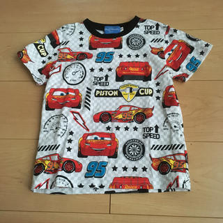 Disney - カーズ総柄Tシャツ(110サイズ)♡新品