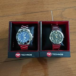 テクノス(TECHNOS)のTECNOS メンズ腕時計2本セット(腕時計(アナログ))