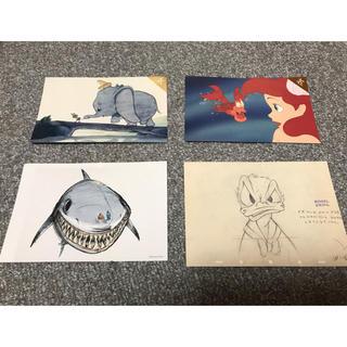 ディズニー(Disney)のディズニー ポストカード4枚セット(写真/ポストカード)