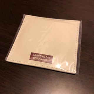 コントワーデコトニエ(Comptoir des cotonniers)のコントワーデコトニエ レザーラウンドミラー(日用品/生活雑貨)