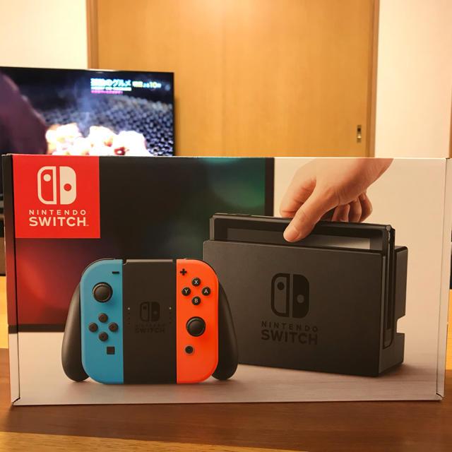 Nintendo Switch(ニンテンドースイッチ)の任天堂Switch 新品 エンタメ/ホビーのテレビゲーム(家庭用ゲーム本体)の商品写真