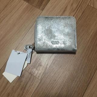 アンバー(Amber)のアンバーウォレット 折りたたみ財布 新品タグ付き(折り財布)