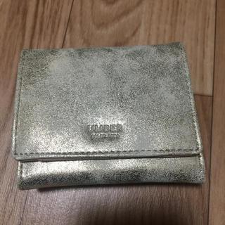 アンバー(Amber)のアンバー ミニウォレット 財布 新品未使用(折り財布)