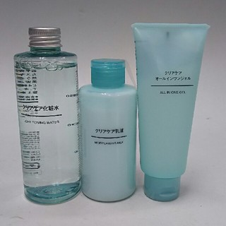 ムジルシリョウヒン(MUJI (無印良品))の新品 無印良品 クリアケア 化粧品・ 3点セット(化粧水 / ローション)
