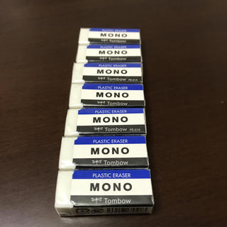 トンボエンピツ(トンボ鉛筆)のmono消しゴム 7個 (消しゴム/修正テープ)