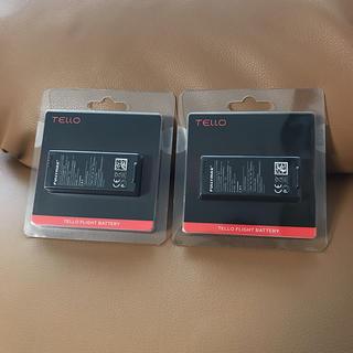 【新品】DJI Ryze-Tech Tello用 バッテリー 2本セット(トイラジコン)