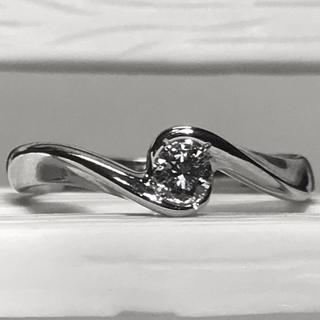 ヨンドシー(4℃)の4°c Pt 950 ダイヤモンド 0.134ct #8.5 リング ヨンドシー(リング(指輪))
