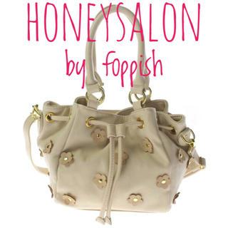 ハニーサロンバイフォピッシュ(honey salon by foppish)のハニーサロン バイ フォピッシュ【美品】2way ショルダー バッグ(ショルダーバッグ)