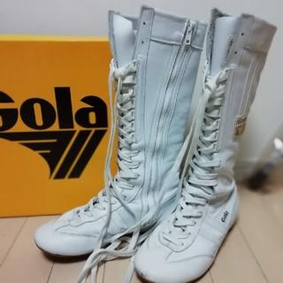 ゴーラ(Gola)のGola ブーツ white ×white(スニーカー)