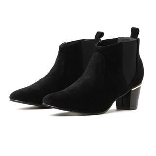 レイカズン(RayCassin)の新品 サイドゴアブーツ  ブラック(ブーツ)