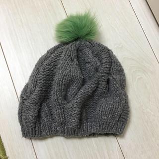 トゥモローランド(TOMORROWLAND)のbeayukmui イタリアブランド カシミア ニット帽(ニット帽/ビーニー)