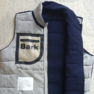 バーク(BARK)のバーク ベスト Bark(テーラードジャケット)