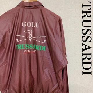 トラサルディ(Trussardi)の古着 TRUSSARDIトラサルディ スウィングトップ ドリズラー 0105(ナイロンジャケット)