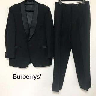 バーバリー(BURBERRY)の正規品 メンズ バーバリー フォーマル スーツ ブラック(セットアップ)