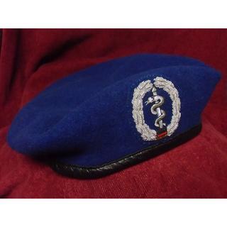 BW/ドイツ軍・連邦軍*陸軍・医療・衛生/メディカル将校ベレー帽*59cm(戦闘服)