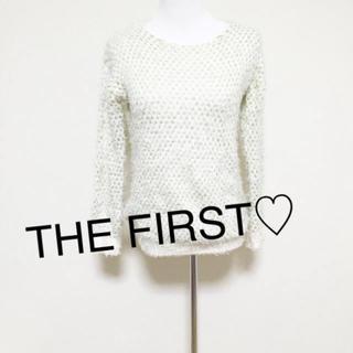 ザファースト(THE FIRST)のTHE FIRST☆ラメ編み込みニットセーター(ニット/セーター)