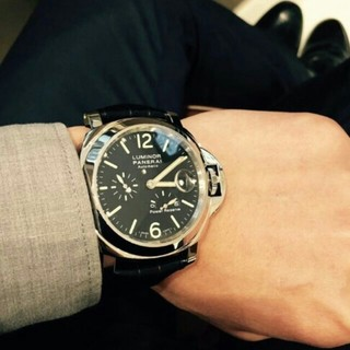 オフィチーネパネライ(OFFICINE PANERAI)のパネライルミノール パワーリザーブ  PAM00090(腕時計(アナログ))
