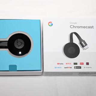 クローム(CHROME)のgoogle chromecast2 グーグル クロームキャスト2(映像用ケーブル)
