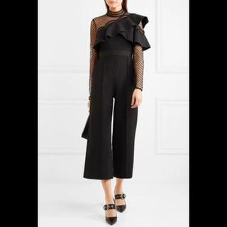 セルフポートレイト(SELF PORTRAIT)のセルフポートレート オールインワン 黒(その他ドレス)