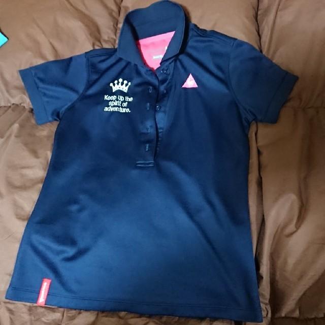 c2249fd51568d8 le coq sportif(ルコックスポルティフ)のルコックゴルフ ポロシャツ 紺 Mサイズ 新品 スポーツ