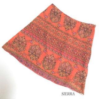 シェラデザイン(SIERRA DESIGNS)のSIERRA シーラ デザイン スカート サイズ38(ミニスカート)