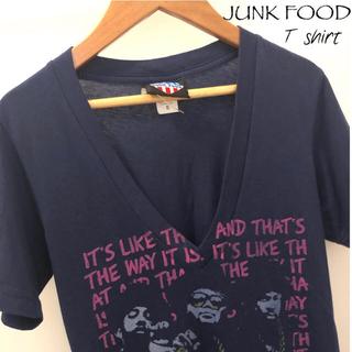 ジャンクフード(JUNK FOOD)の【JUNK FOOD Tシャツ】ジャンクフード RUN DMC ほぼ未使用(Tシャツ(半袖/袖なし))